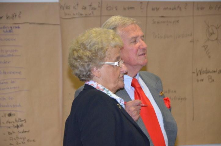 Frau Renate Slawik, Dr. Helmut Eikam