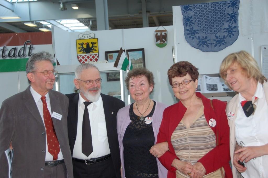 Unser Team aus Brünn mit Msg. Otte, dem geistlichen Beirat der Ackermann Gemeinde
