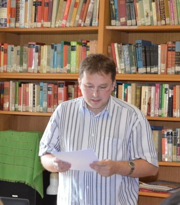 Mgr. Jiří Skoupý berichtet über den ehemaligen Dramaturg des Stadttheaters,Dr. Guido Glück