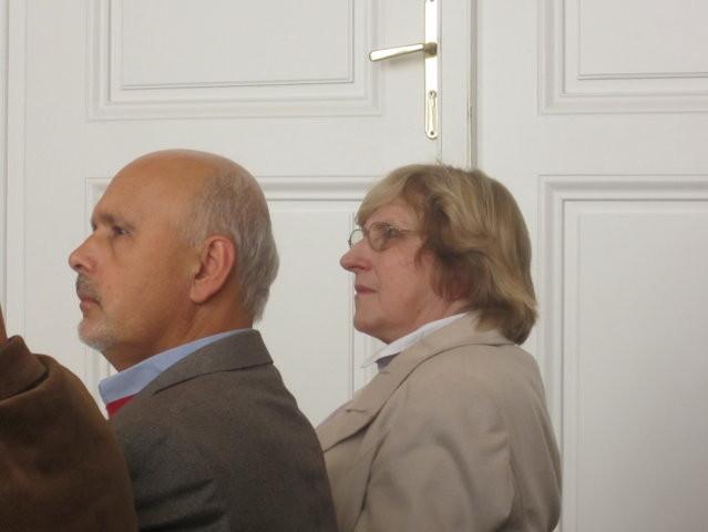 Zu den Ehrengästen des Nachmittags gehört auch Herr PhDr. Mojmír Jeřábek, der Direktor des Auslandsreferats der Stadt Brünn