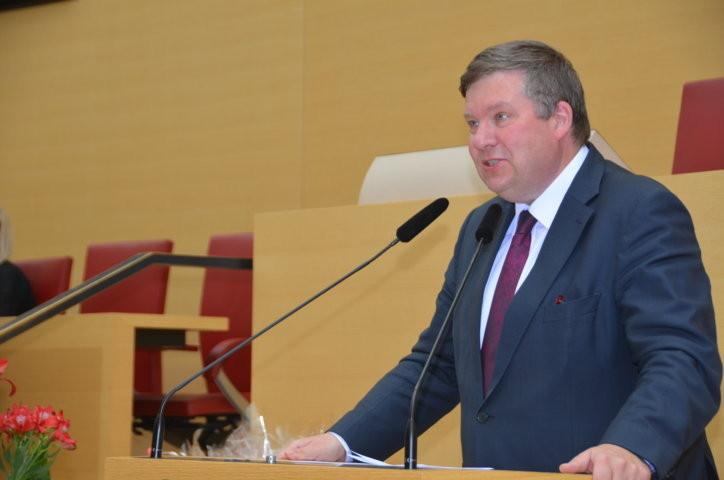 Herr Volkmar Halbleib, Bayrischer Landtag