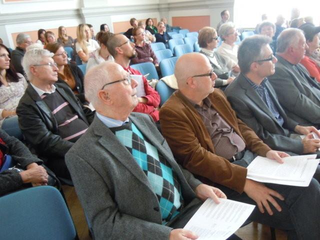 Zu den Ehrengästen des Nachmittags gehört Ing. Pavel Fried, der Vorsitzende der Israelitischen Gemeinde in Brünn