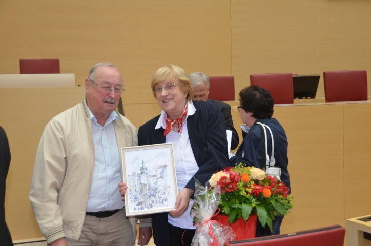 Herr Herbert Schlumperger - herzlichen Dank für das schöne Bild von Brünn