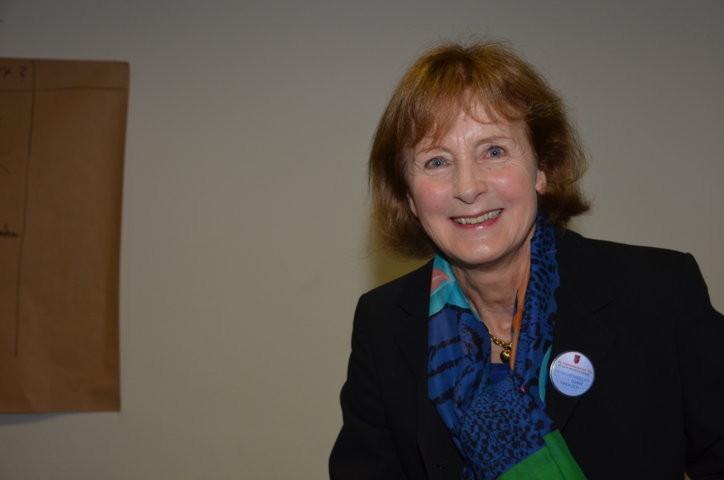 Frau Dr. Hildegard Kronawitter, die Moderatorin des Gesprächs