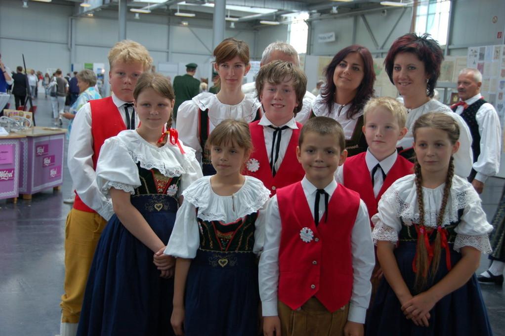 Kindertanzgruppe Mährisch Trübau
