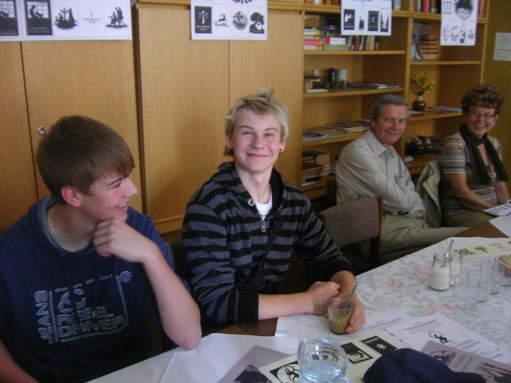 Dazu luden wir auch Jugendliche aus Brünner Schulen ein.