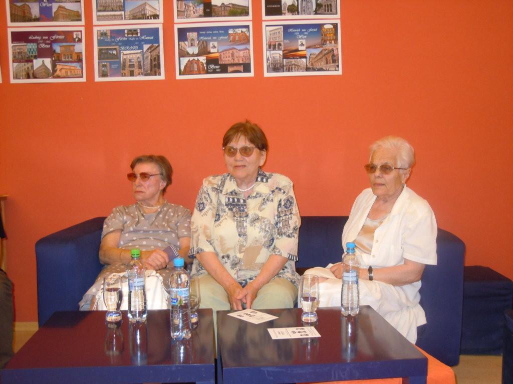 Zeitzeuginnen REnate Stroner, Erna Krejčí, Kitty Galda