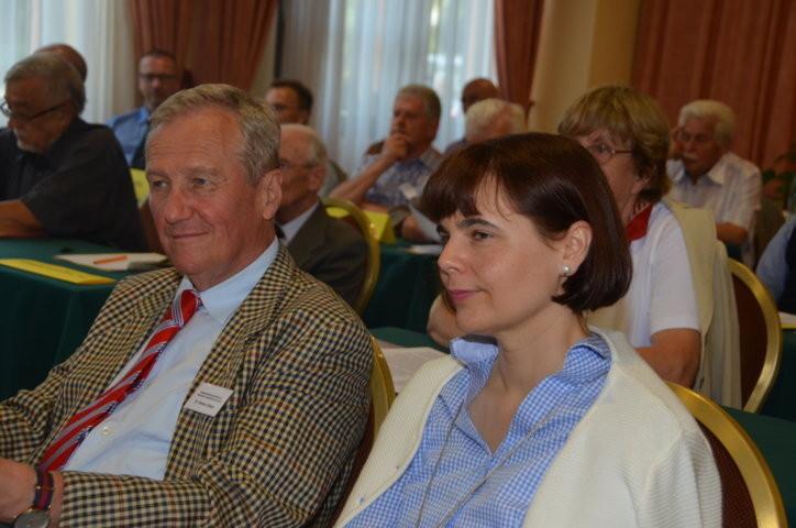 Herr Dr. Helmut Eikam mit Ehefrau