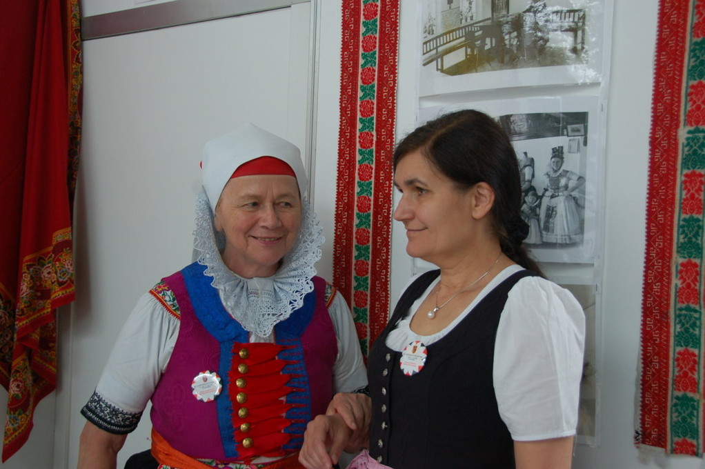 Rosina Reim und Zuzana Finger