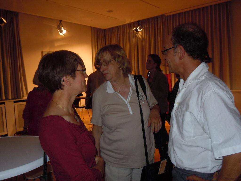 Frau Warnsdorf und Joachim Sauter