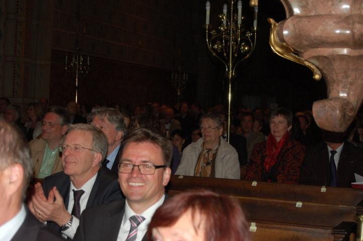 Bürgermeister Dr.Martin Schairer, Stuttgart und Bürgermeister Dr. Joachim Bläse, Schwäbisch Gmünd