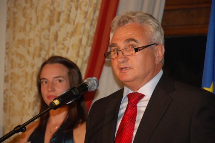 Milan Štěch, President des Senats der Tschechischen Republik