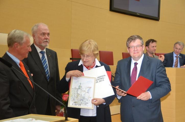 """Anerkennung als """"Brückenabauerin"""" durch die SPD Bayern"""
