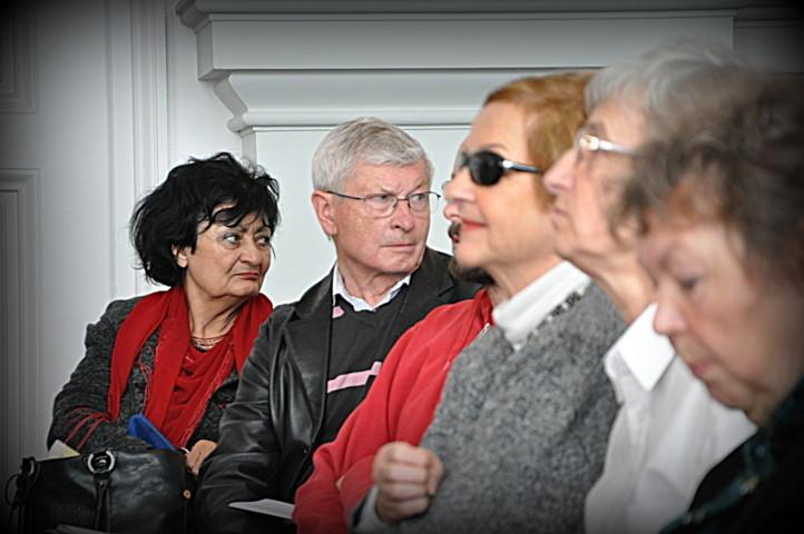 Zu den Ehrengästen des Nachmittags gehört Prof. PhDr. Jiří Munzar, Institut für Germanistik der FF MU