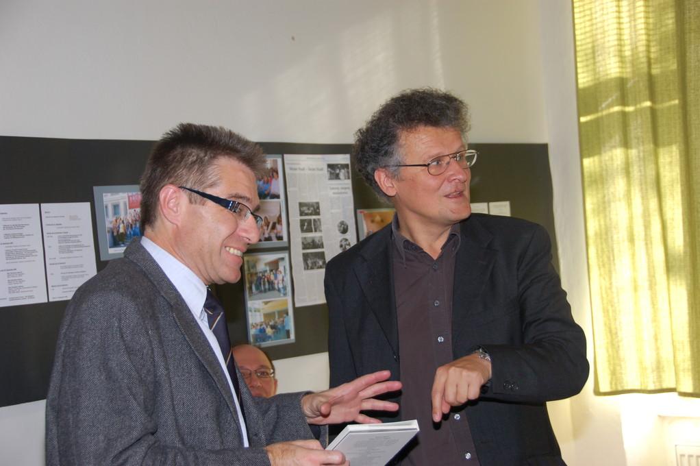Dr. Zdeněk Mareček und Dr. Walter Fanta