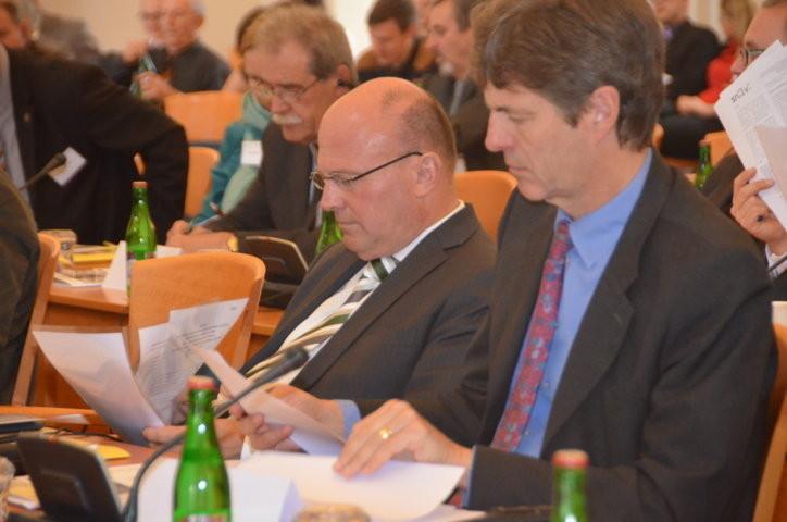 Hartmut Koschyk und Dr. von Loringhoven