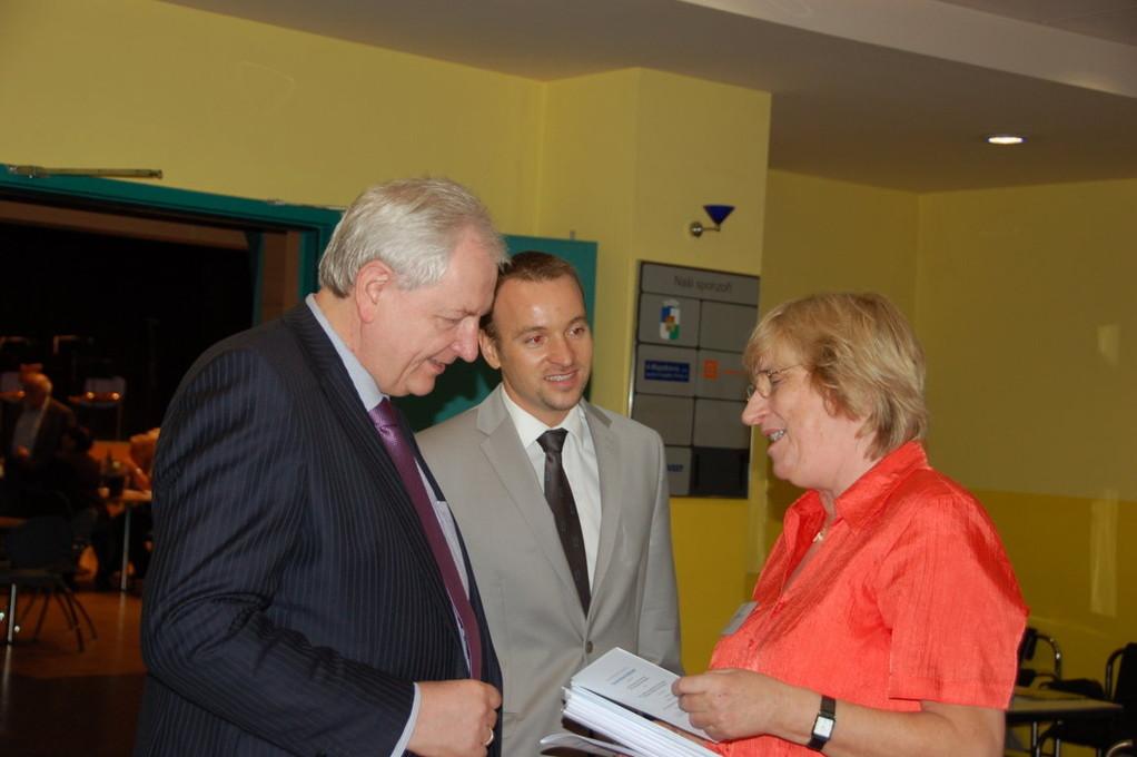 Der Botschafter der Bundesrepublik Deutschland, S.E. Detlef Lingemann, besucht unsere Großveranstaltung