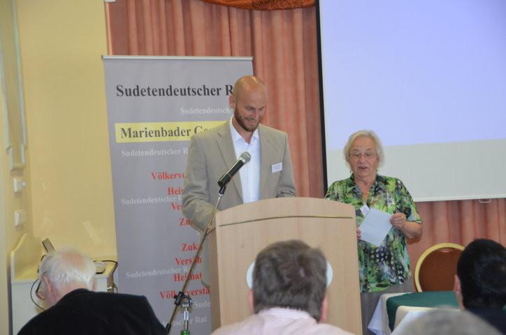Herr David Macek, Landtagsabgeordneter Südmähren