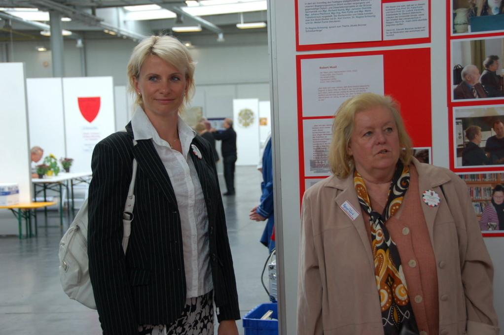 Frau Rehorikova aus dem Prager Begegnungszentrum