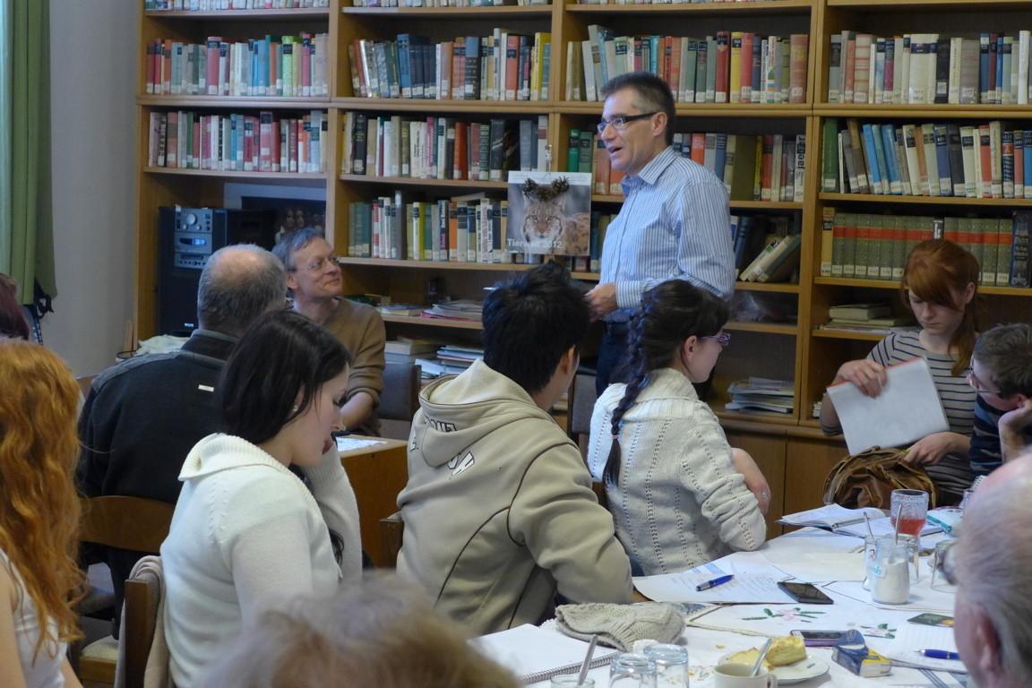Die fachliche Begleitung der Veranstaltung übernahm Herr PhDr. Zdeněk Mareček , ebenfalls Institut für Germanistik der MU