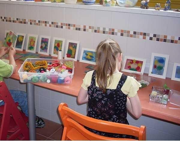 Kinderprojekt freie Gestaltung