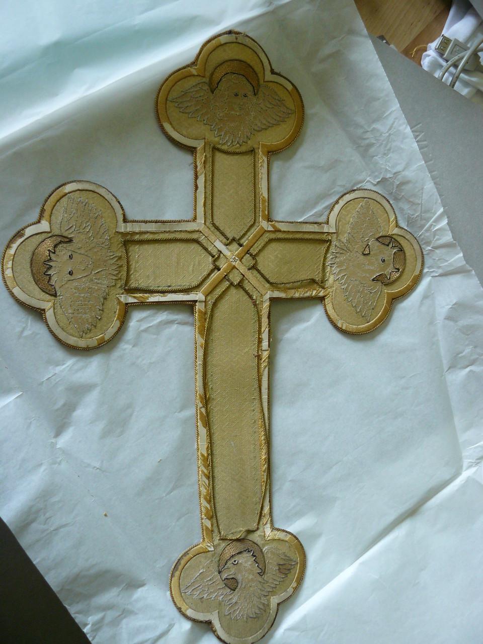 Antependienkreuz im Original ca. 100 Jahre alt