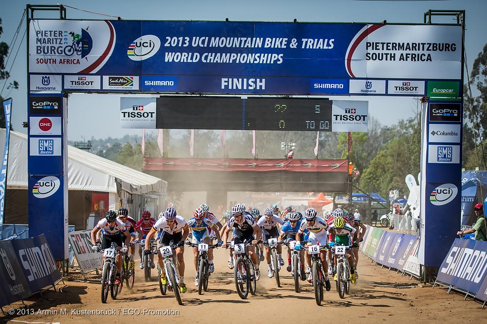 World Champs Juniors Start - South Africa