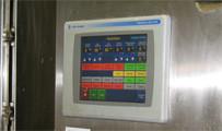 Panel de control de un PLC