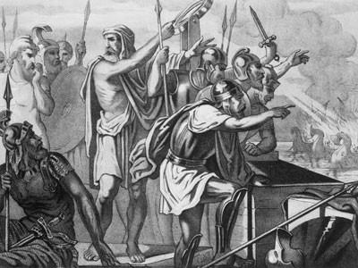 El rayo de la muerte de Arquímedes