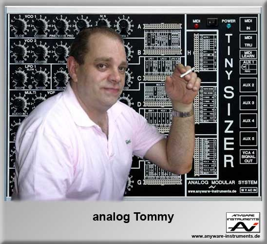 analog Tommy is watching YOU :-)