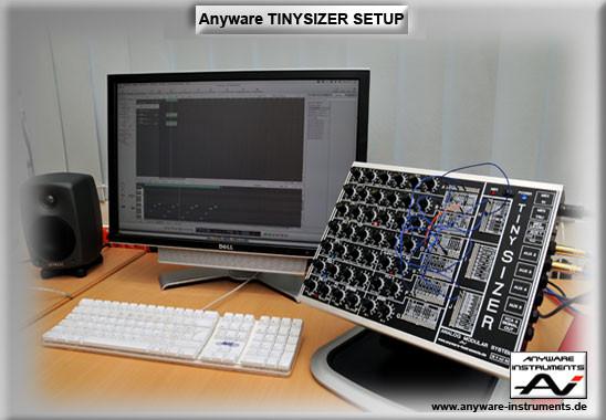 TINYSIZER Studio Setup