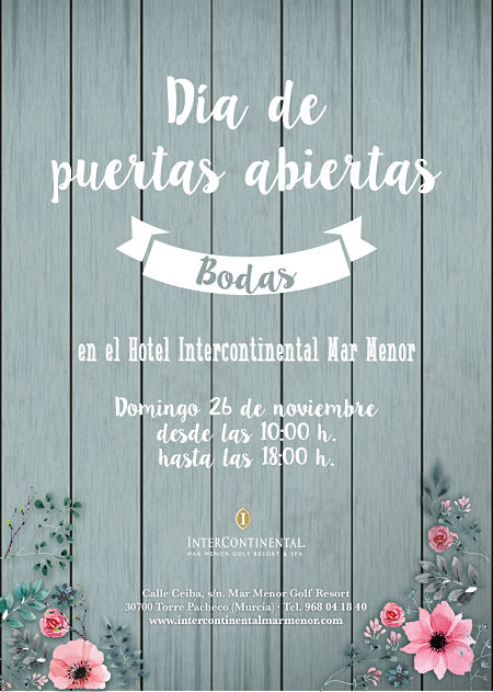 Bodas Hotel Intercontinental Mar Menor, La Dulce Ilusión Candy Bar, mesas dulces boda murcia, exposición de bodas en murcia