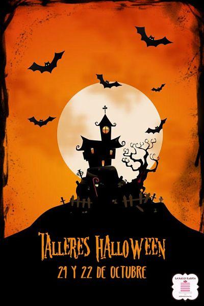 Taller para niños Halloween en Murcia, Cartagena y molina de segura. Taller de repostería de halloween para niños