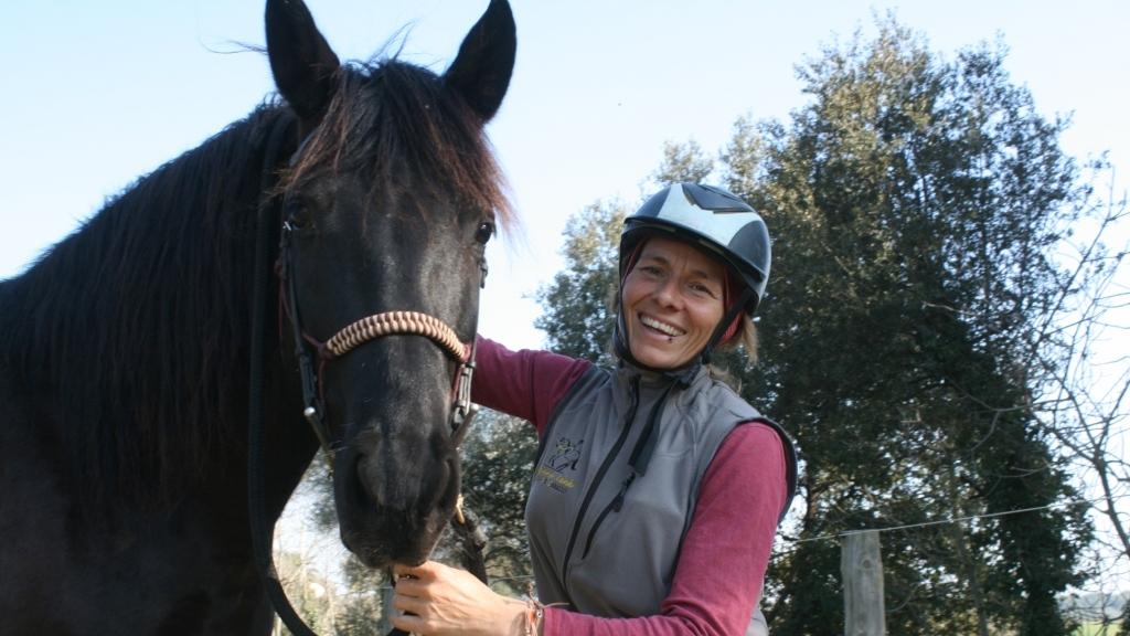 Susanne Lenk - Horsemanship en España
