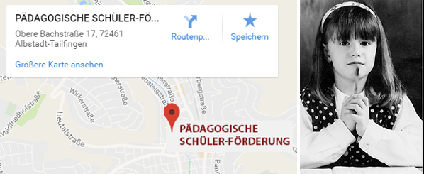 Pädagogische Schülerförderung Standort Albstadt-Talfingen