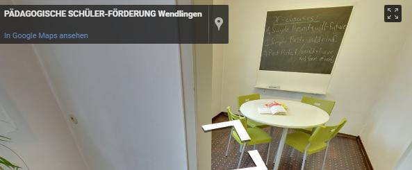Pädagogische Schülerförderung Standort Wendlingen