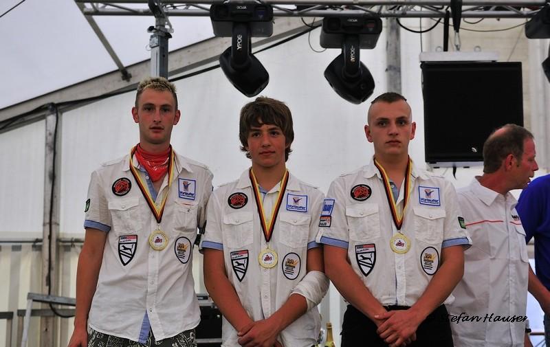4. Platz Team Vorlaufer