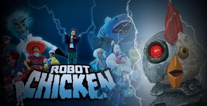 Robot Chicken (2 ép) / Adult Swim