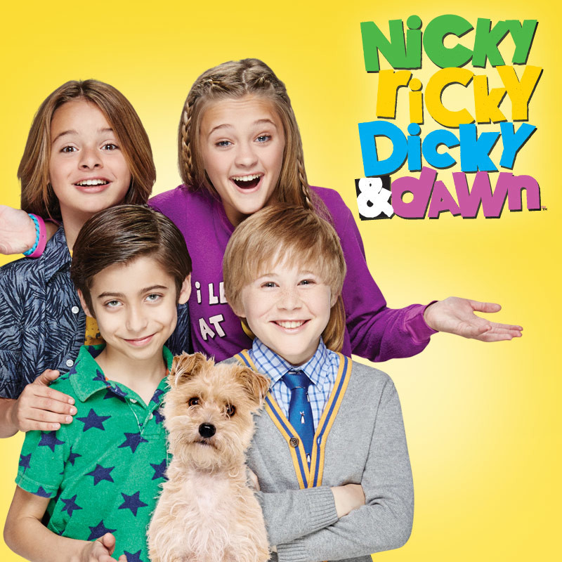 Nicky, Ricky, Dicky & Dawn (1 épisode) / Nickelodeon