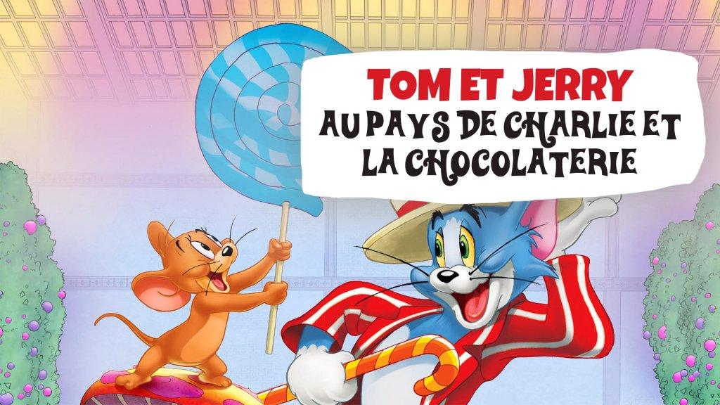 Tom et Jerry au pays de Charlie et la chocolaterie / DVD