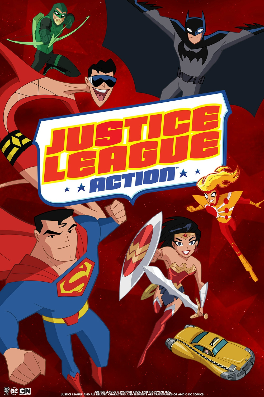 La Ligue des Justiciers : Action (22 ép)