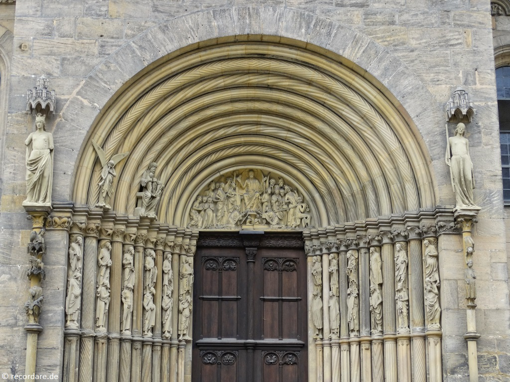 Romanisch-gotisches Fürstenportal