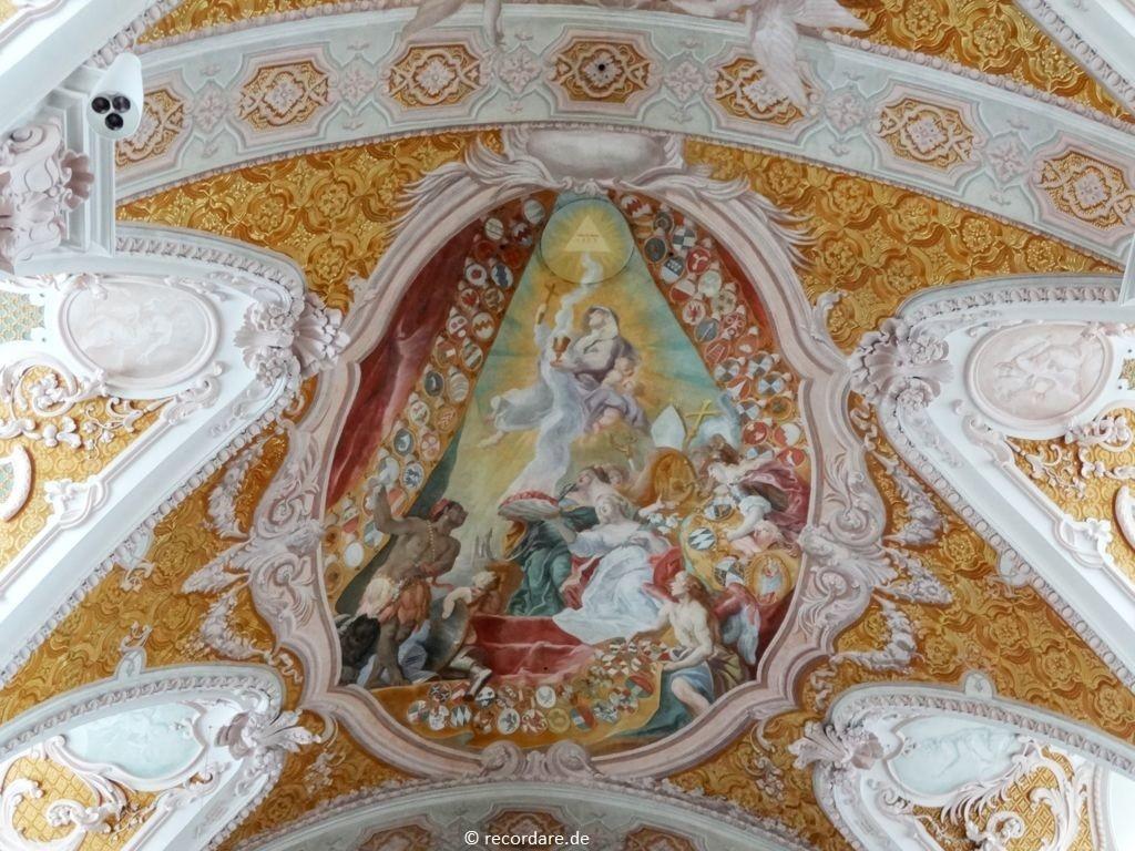 Fresko - Drei göttliche Tugenden