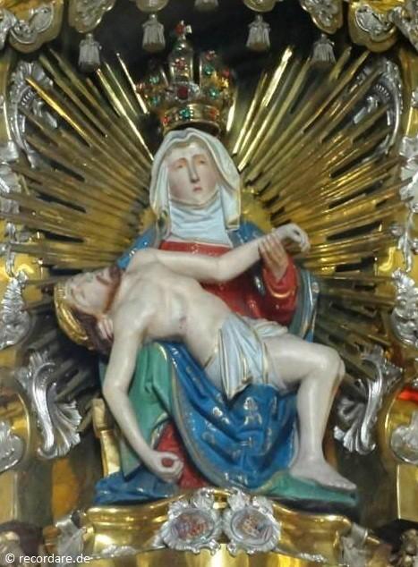 Gnadenbild, Maria im Sand