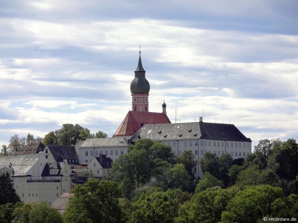 Blick zum Heiligen Berg, Kloster Andechs