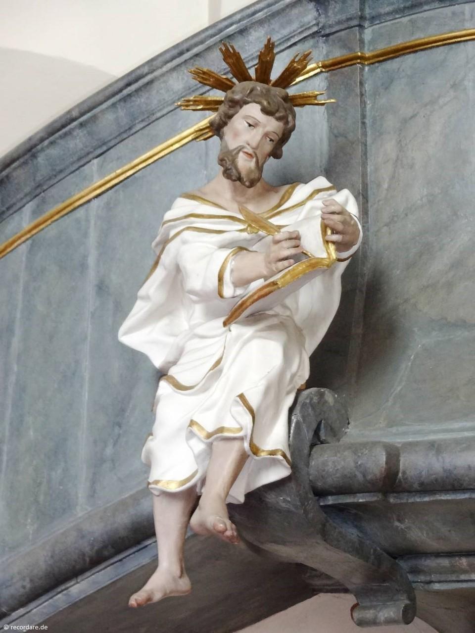 Kanzelfigur Evangelist