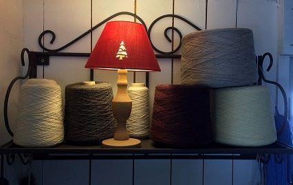 cones de fil lin et coton