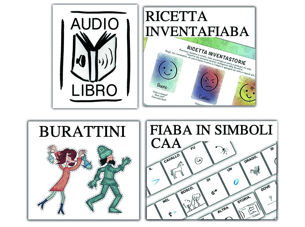 audiolibro, ricetta inventastorie e CAA