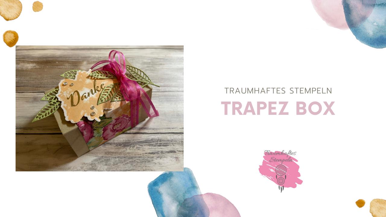 "Trapez Box ""Kunstvoll koloriert"""
