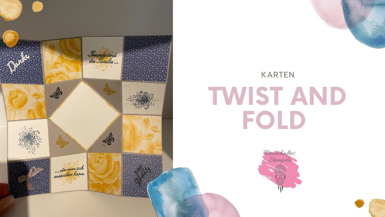 Twist and Fold Karte